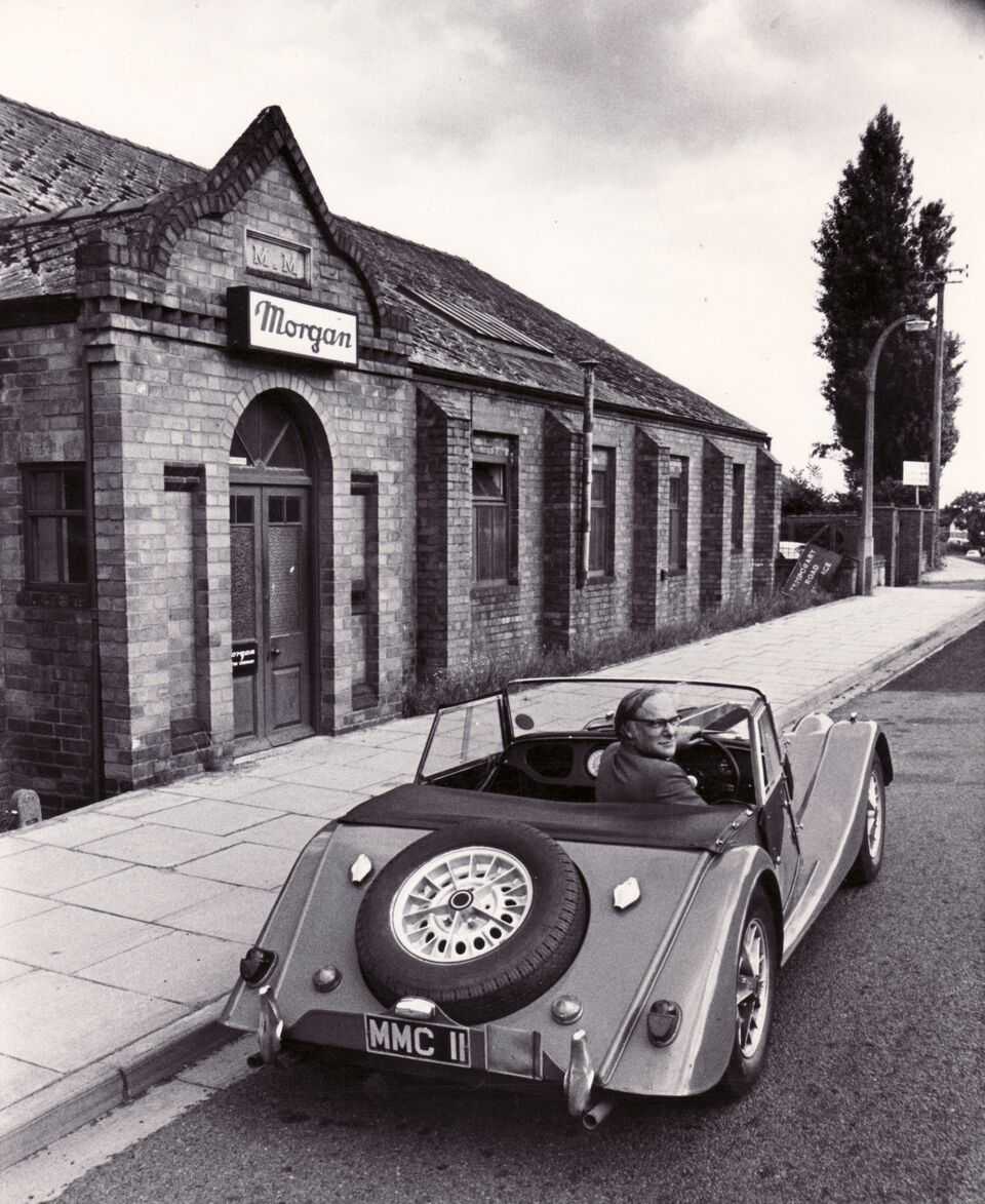 Morgan Factory Stock Photos Morgan Factory Stock Images: Morgan Motor Company To Celebrate 50 Years Of The Iconic