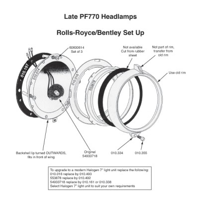 Late PF770 Inner Seating Rim