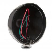 7 in Freestanding Headlamp Shell - Black/Chrome