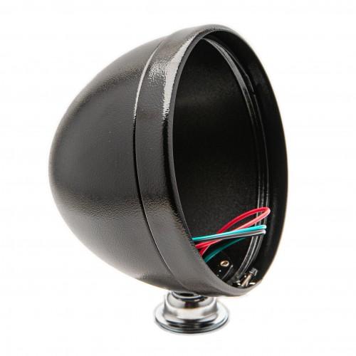 7 Inch Freestanding Headlight Shell - Black Powder Coated image #1