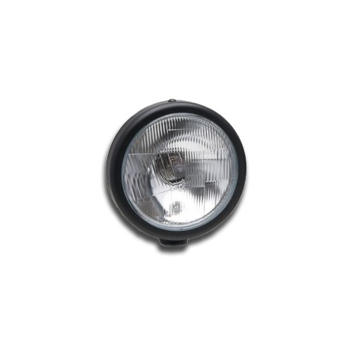 Headlamp with Sidelight 5 3/4 inch - Freestanding - Black