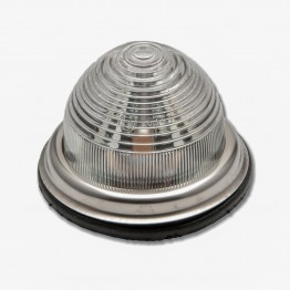 Reversing/Sidelamp - Flat Base - Single Filament - Clear