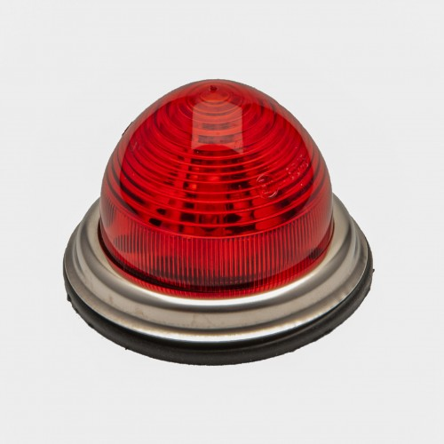 Stop/Tail Lamp - Flat base - Single Filament - Red