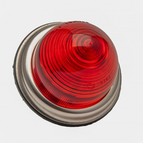 Stop/Tail Lamp - Flat base - Single Filament - Red image #1