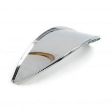 Bates Headlamp Visor - Chrome  - To suit 5 3/4 inch Headlamps