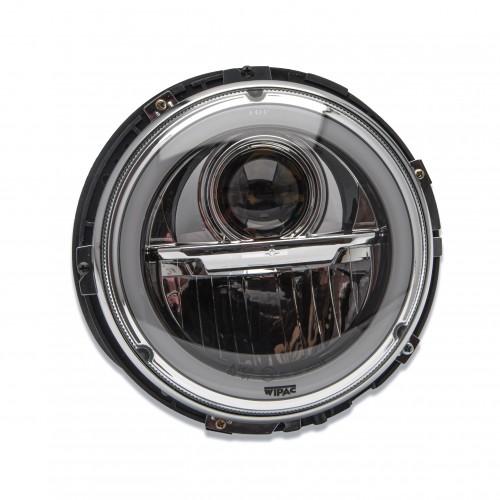 "Wipac 7"" LED Headlamp with Halo - RHD Pair image #1"