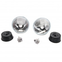 Wipac 7 Inch RHD Halogen Headlamp Set without Sidelight