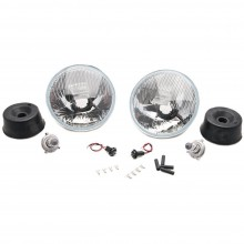 Wipac 7 inch RHD Halogen Light Unit Set with Sidelight