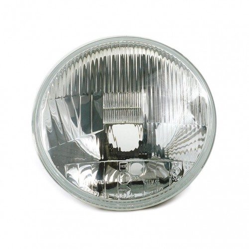 Headlamp - Wipac 7 in RHD Halogen - With Sidelight - Metal Reflector image #1