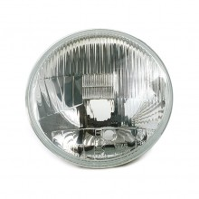 Headlamp - Wipac 7 in RHD Halogen - With Sidelight - Metal Reflector