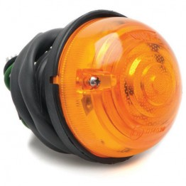 Indicator Flasher Lamp - 70mm Diameter - Amber