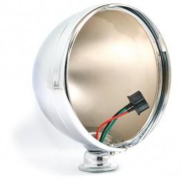 7 inch Freestanding Headlamp Shell - Chrome