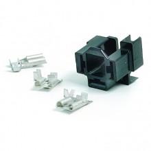 Headlamp or Flasher Relay Socket Kit - Right Angled
