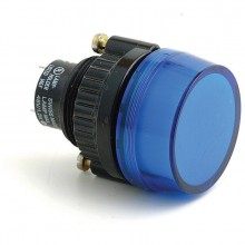Warning Lamp - Blue - 29mm