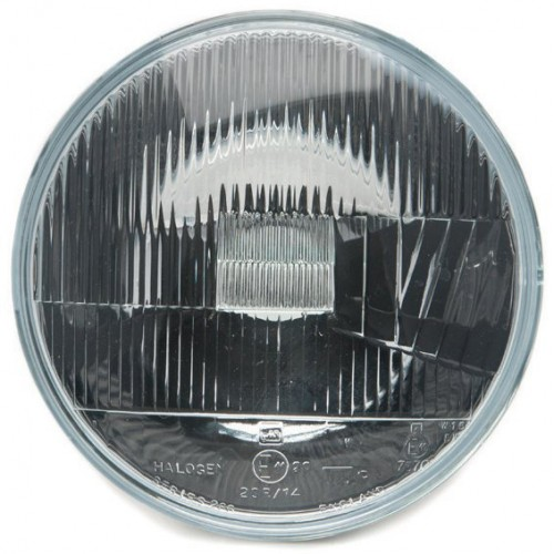 Headlamp Unit - Wipac 7 inch LHD Halogen Light Unit without Sidelight image #1