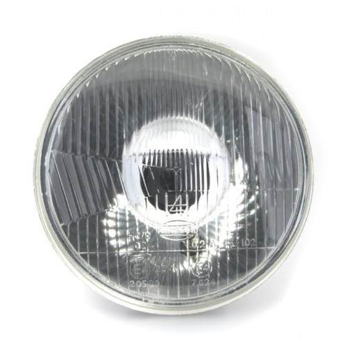 Headlamp 7 inch - With Sidelight - Flat Glass - RHD image #1