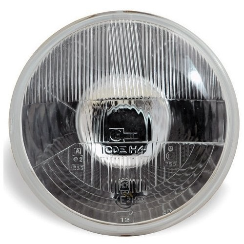 Cibie Halogen Headlight Unit 7 inch - With Sidelight - RHD image #1