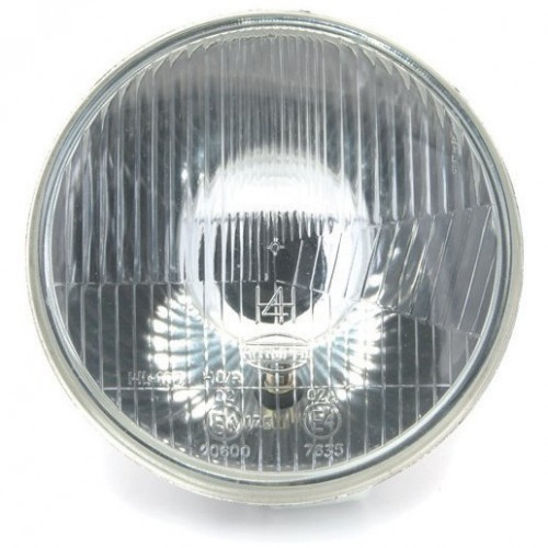 Headlamp 7 inch  - With Sidelight - Flat Glass - LHD image #1