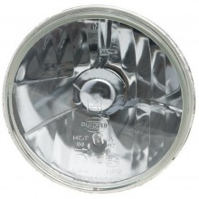Autopal 7 inch Halogen Headlamp - With Sidelight - Plain Glass - RHD