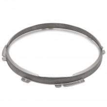 7 inch Headlamp 2-Adjuster Retaining Rim - Stainless Steel