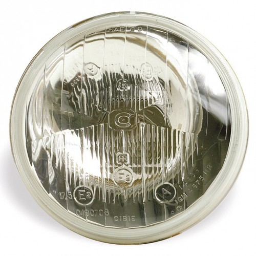 Cibie 5 3/4 inch Halogen Headlamp Without Sidelight (Inner) RHD or LHD image #1