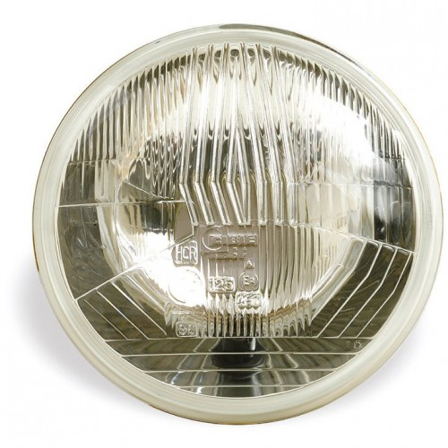 Cibie 5 3/4 inch Halogen Headlamp Without Sidelight (Outer) RHD image #1