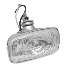 Reversing Lamp/Light - Stainless Steel - Rectangular