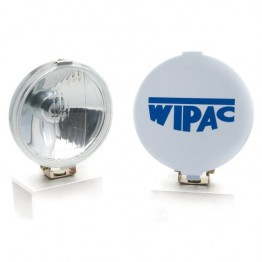 Wipac Driving Lamps - 5 1/4 inch Diameter - Chrome - Pair