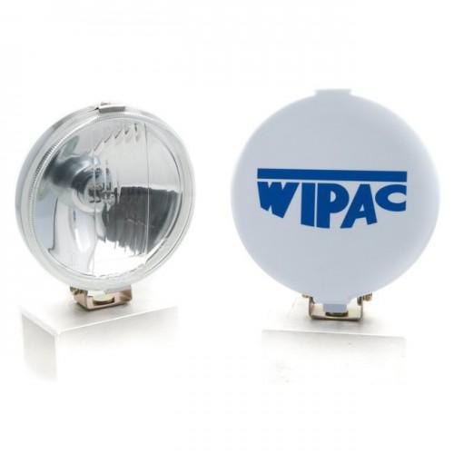 Wipac Driving Lamps - 5 1/4 inch Diameter - Chrome - Pair image #1