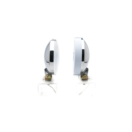 Wipac Driving Lamps - 5 1/4 inch Diameter - Chrome - Pair image #2