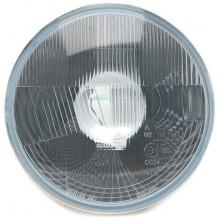Wipac 7 inch Halogen Headlight  - With Sidelight - Plastic Reflector RHD