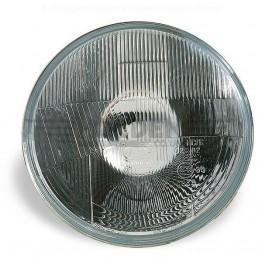 Wipac 7 inch Halogen Headlight  - No Sidelight - Plastic Reflector LHD