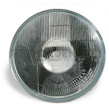 Wipac 7 inch Halogen Headlight  - No Sidelight - Plastic Reflector LHD