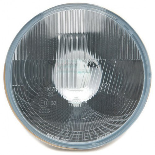 Wipac 7 inch Halogen Headlight  - With Sidelight - Plastic Reflector LHD image #1