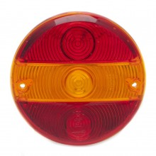 Lens for 010.166 - Red/Amber