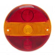 Lens for 010.166 - Red/Amber