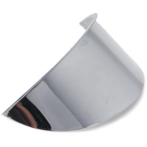 Bates Headlamp Visor - Chrome - To suit 4 1/2 inch Headlamps image #1