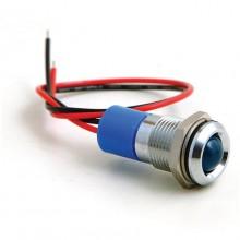 16mm - LED Warning Lamp - Blue