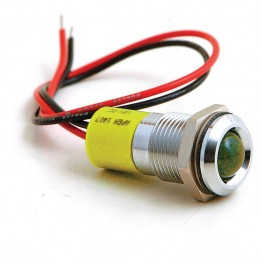 16mm - LED Warning Lamp - Amber