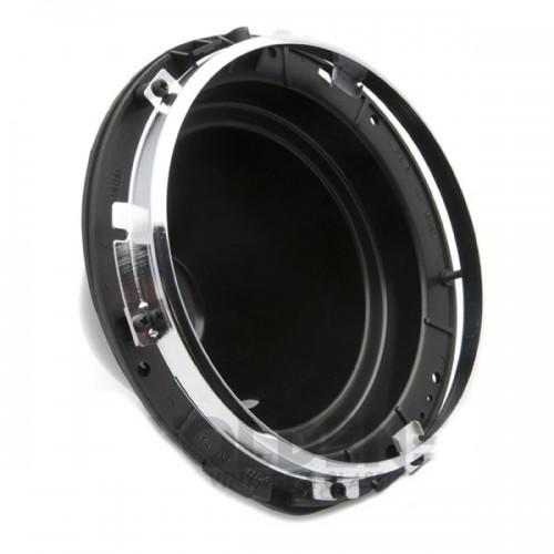 7 in Headlamp 2-Adjuster Backshell Assembly - Plastic image #1