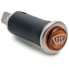 16mm - Warning Lamp with Demist Symbol - Amber