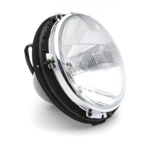 7 in Halogen Headlamp Assembly by Wipac with sidelight - RHD image #1