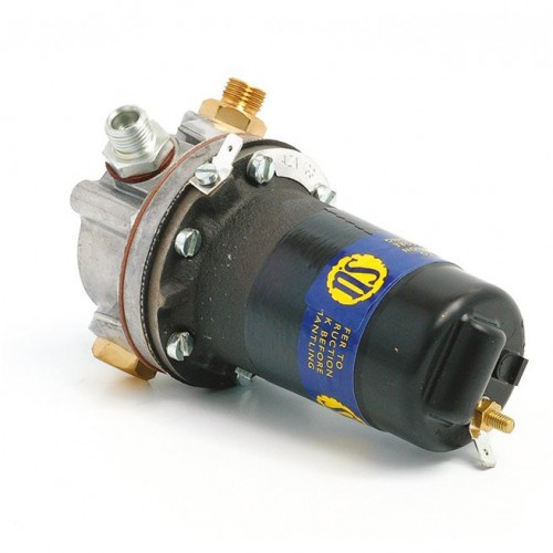 SU Fuel Pump 12v LP with Screw On Fittings - Points Type image #1