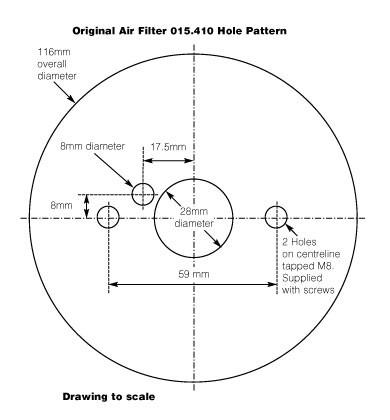 ROCKER BOX Fixation /& JOINTS Austin Healey Sprite MK 4 1275cc 1966-71
