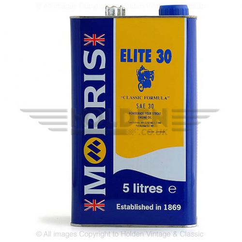 Morris Engine Oil - Elite 30 (5 Litres)