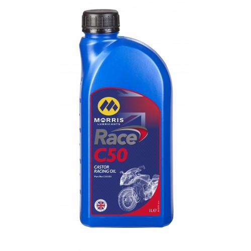 Morris Engine Oil - Castor Based C50 Racing Oil (1 Litre)