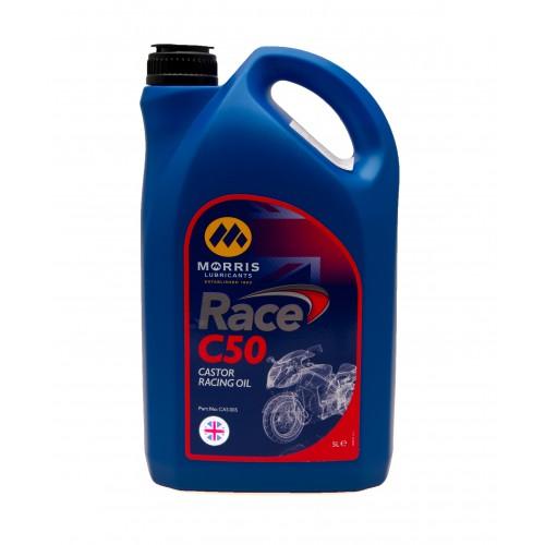Morris Engine Oil - Race C50 Castor Racing Oil (5 Litres)