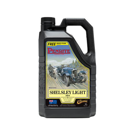 Penrite Engine Oil - Shelsley Light 20W-60 (5 Litres) 1920-1950