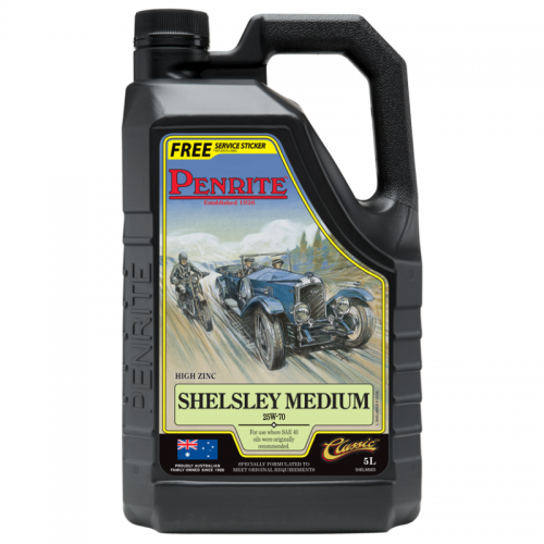Penrite Engine Oil - Shelsley Medium (5 Litres) 1920-1950