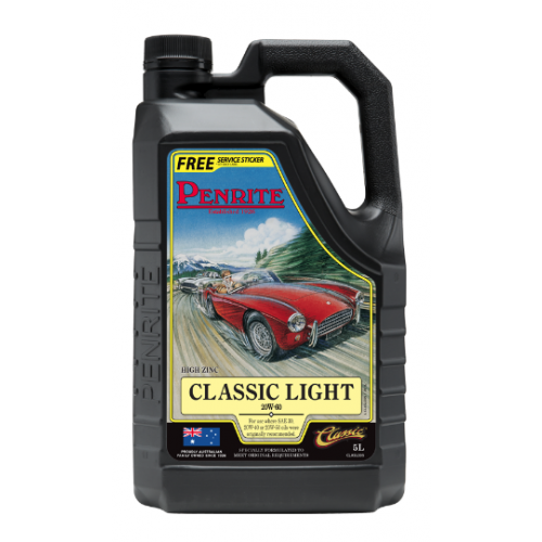 Penrite Engine Oil - Classic Light (5 Litres) 1950 to 1980